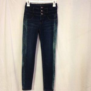 Refuge Hi Waist Skinny Jeans Size 0 VGUC